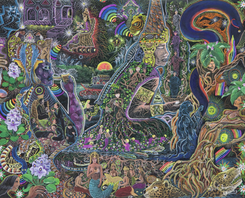 Art Lover's Guide Psychedelic Art