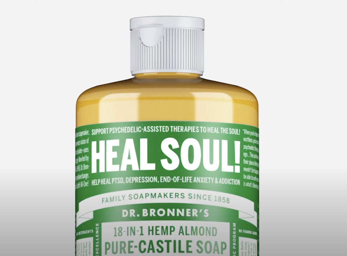 Dr. Bronner's Soap Donates $3 Million to Psychedelic Research and Advocacy