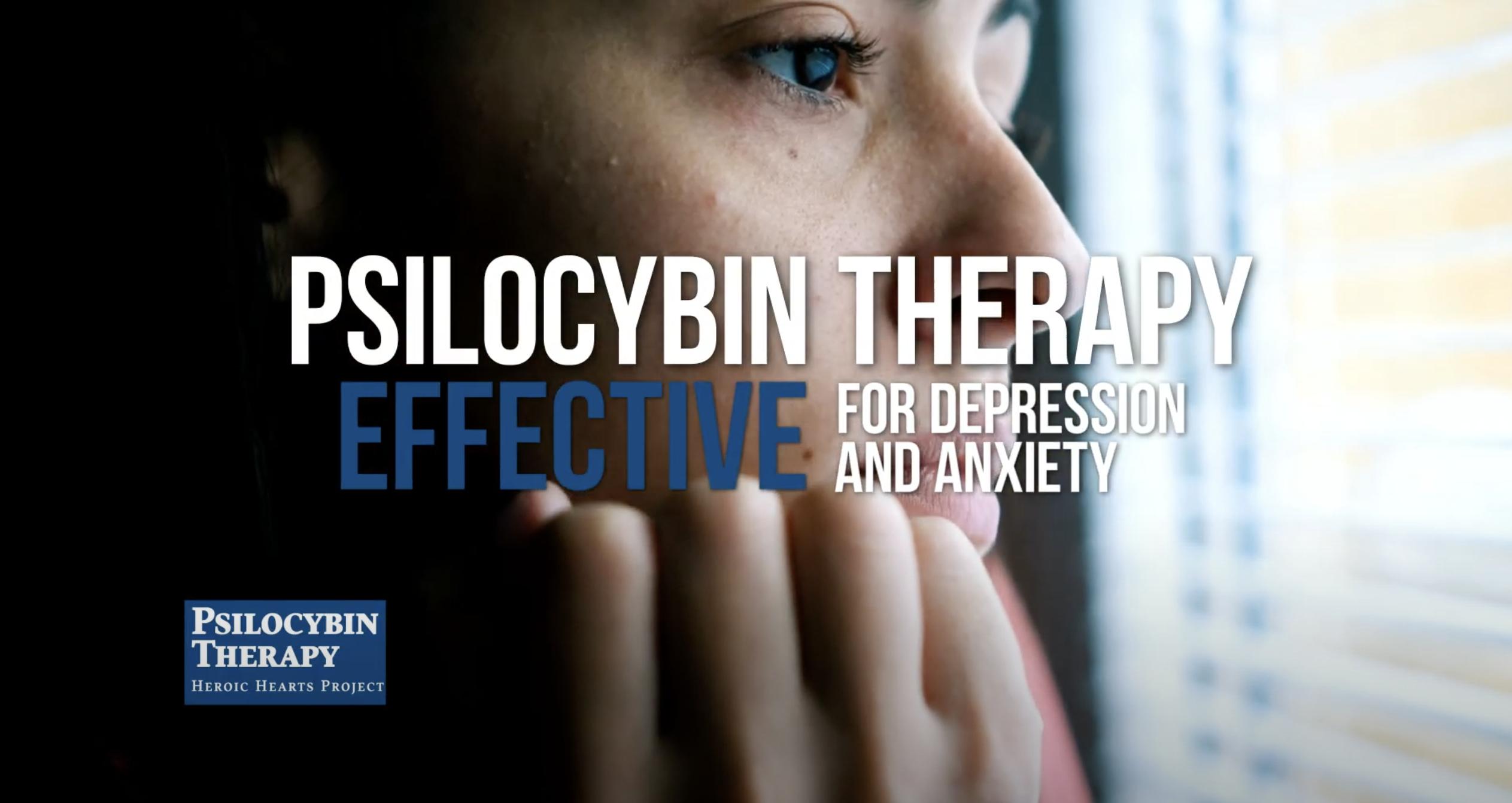 TV Ad Supports Psilocybin Legalization