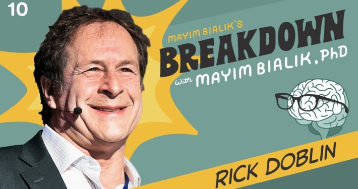 MAPS Founder Rick Doblin Talks MDMA Research for PTSD With Actress Mayim Bialik
