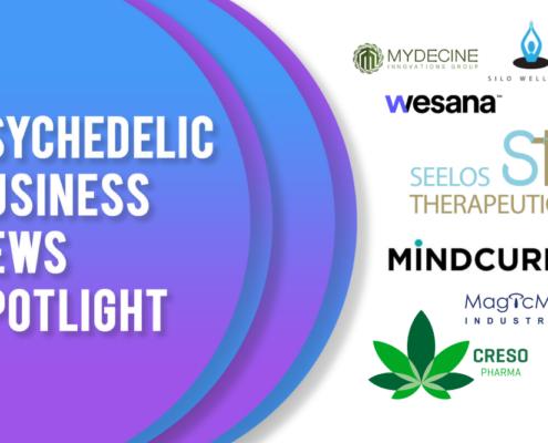 Psychedelic Business News Spotlight: April 16, 2021
