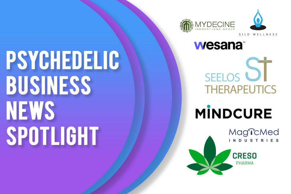 Psychedelic Business News Spotlight: April 16, 2021