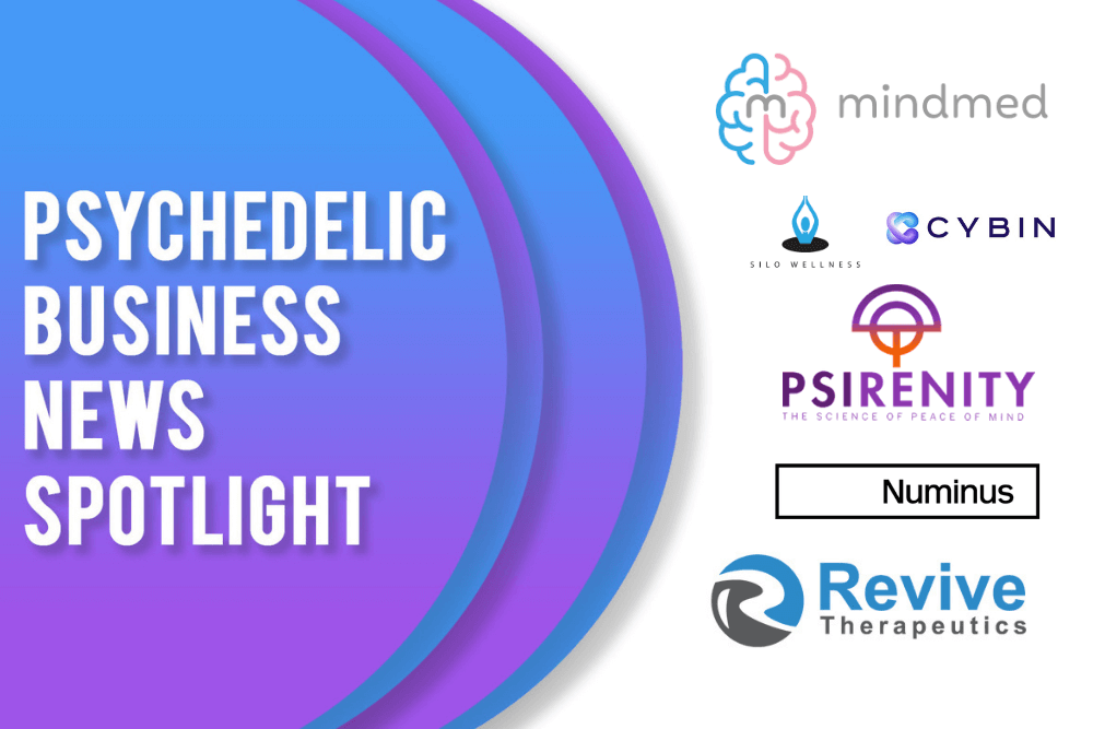 Psychedelic Business News Spotlight: April 30, 2021