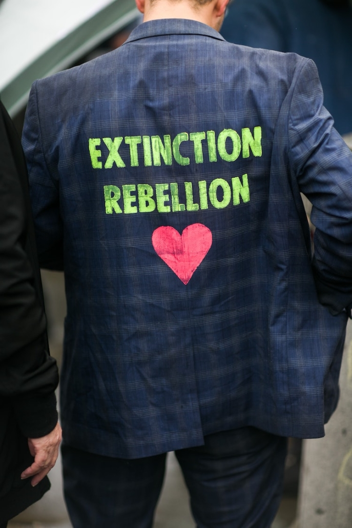 How a Psychedelic Experience Led to the Extinction Rebellion