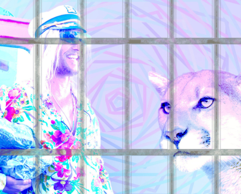 Matthew McConaughey Cuddles a Mountain Lion - 5 Wildest Celebrity Trips on Psychedelics