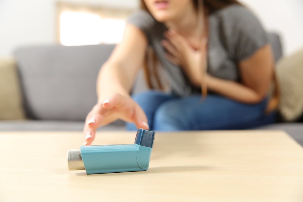 Psychedelics asthma treatment