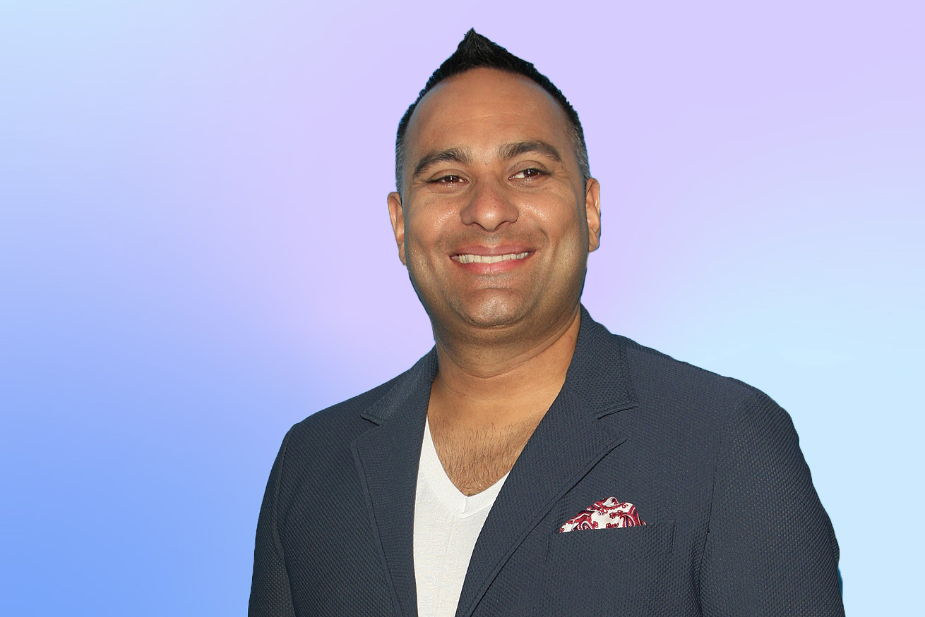 Comedy Superstar Russell Peters Invites the World to Watch His First Psychedelic Trip